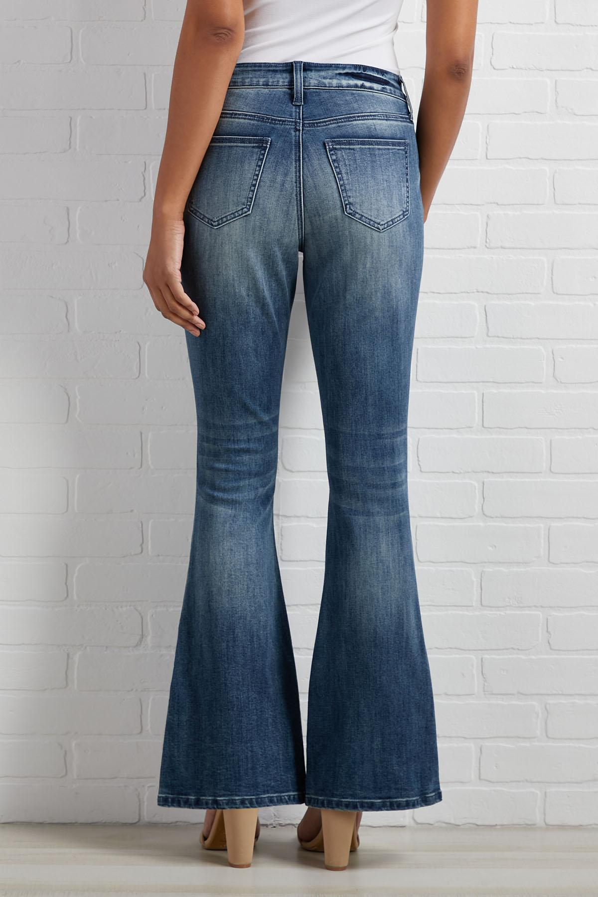 Split The Check Jeans