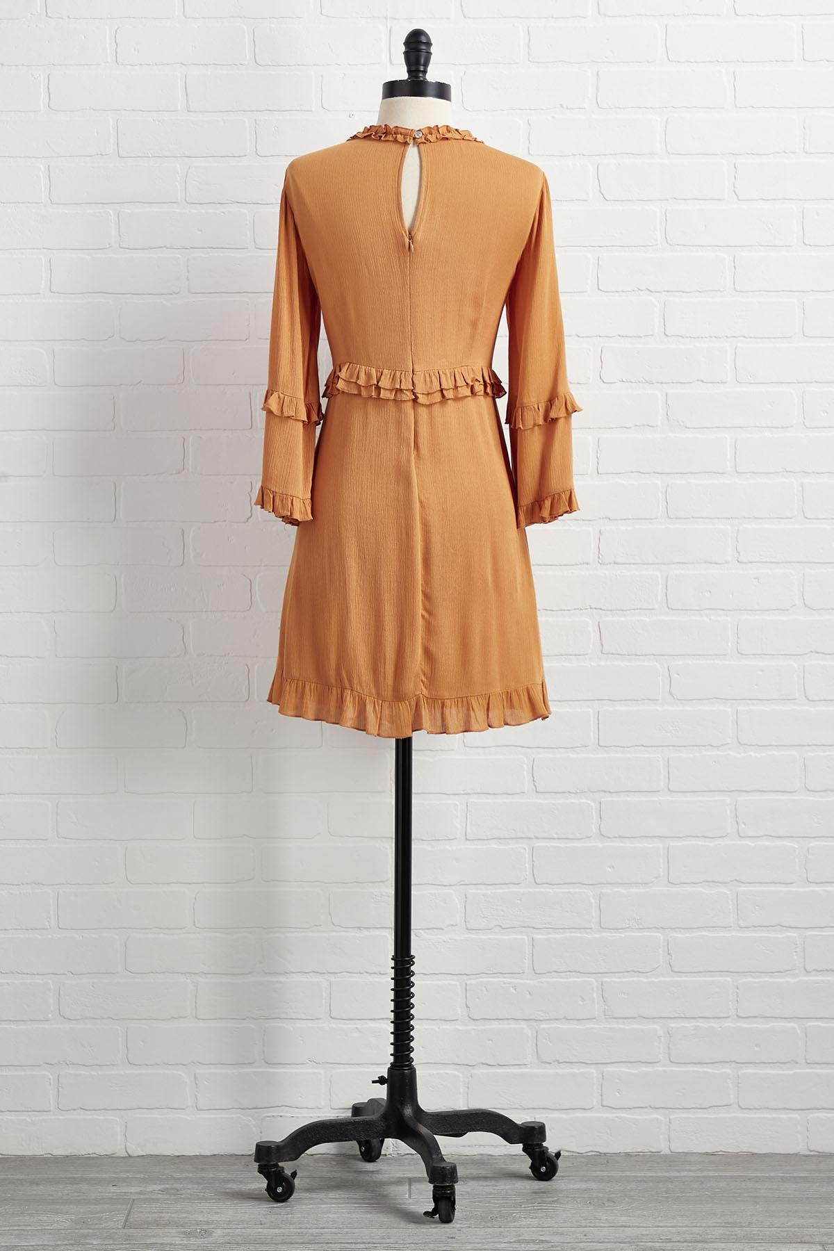 Rolling In The Deep V- Neck Dress