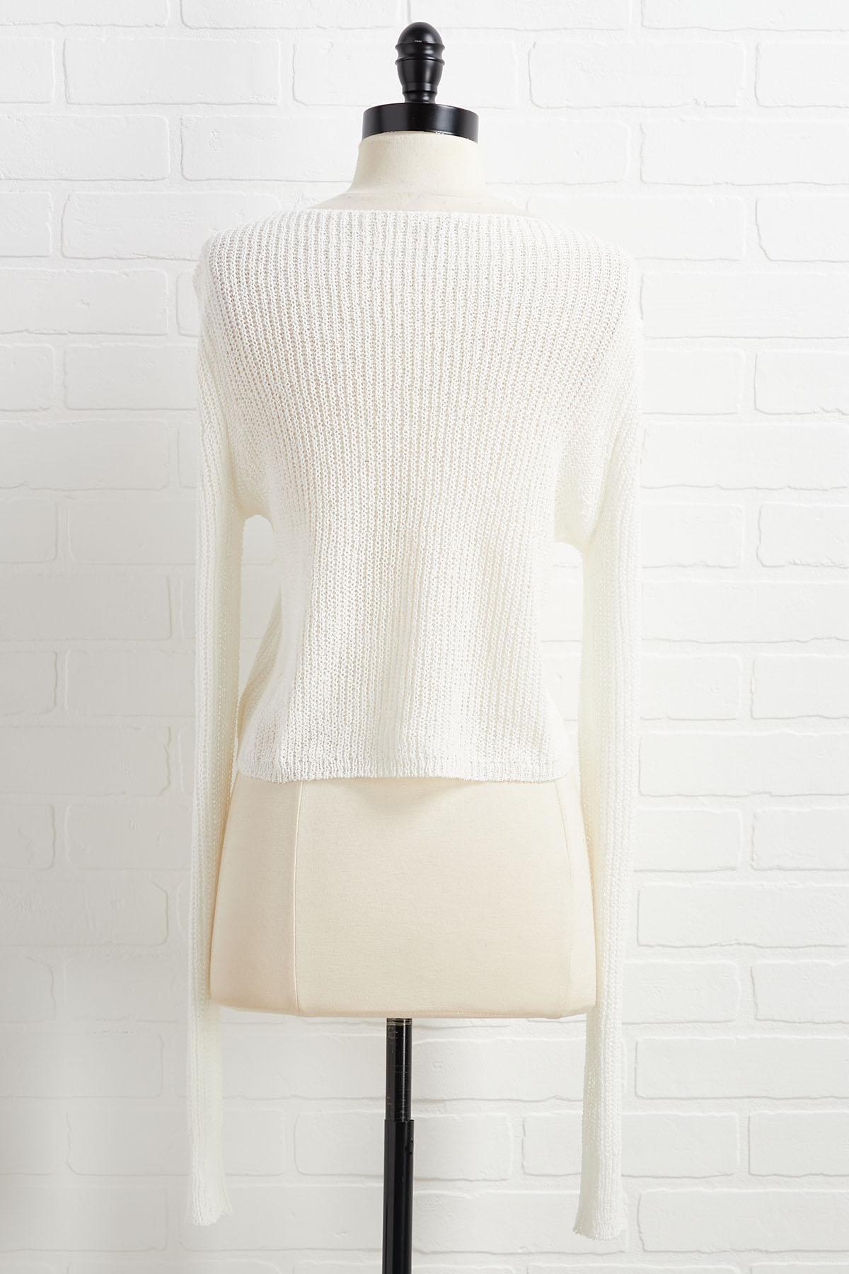 Flirting With Summer Sweater