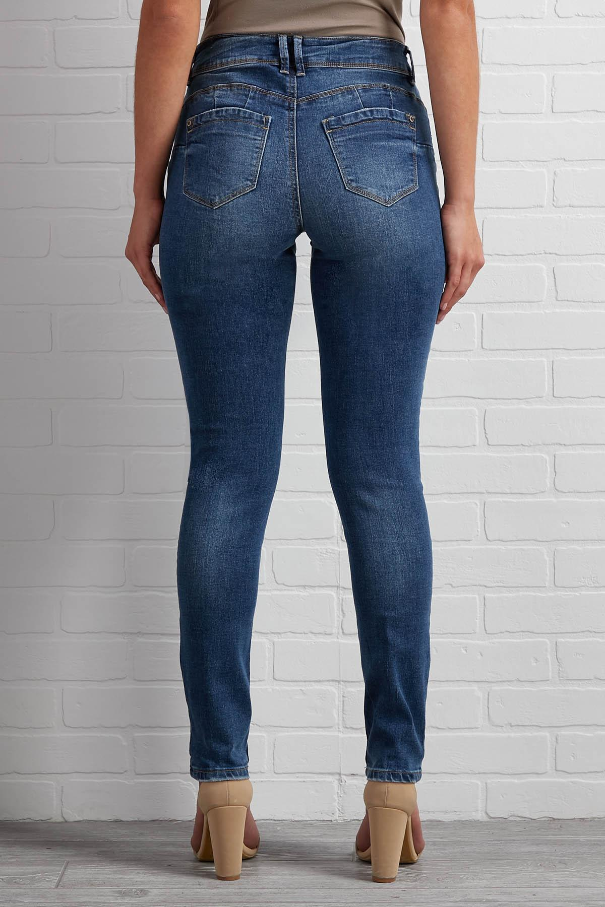 Cat's Scratch Out Of The Bag Jeans