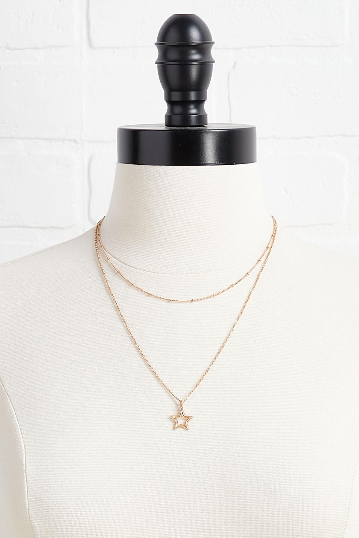 Sparkling Star Layered Necklace