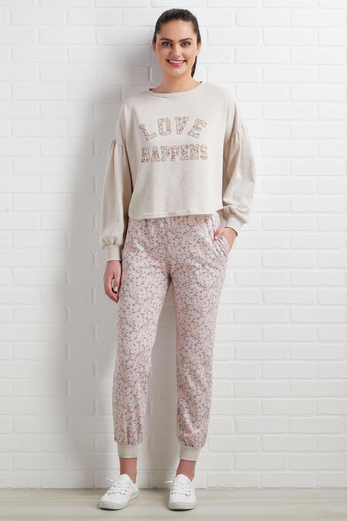 Love Happens Sweatshirt