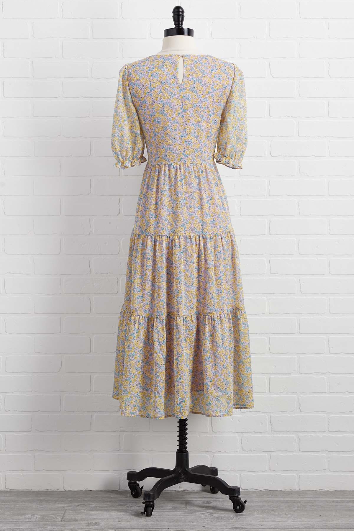 Among The Fields Dress