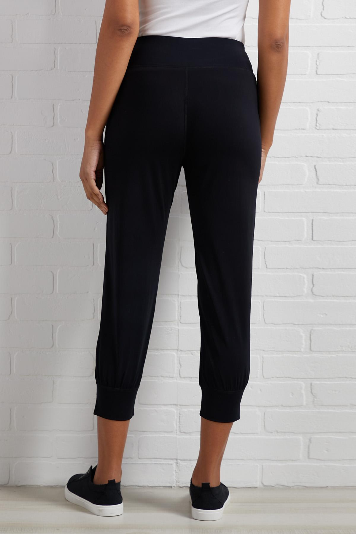 The List Goes On And Nylon Joggers