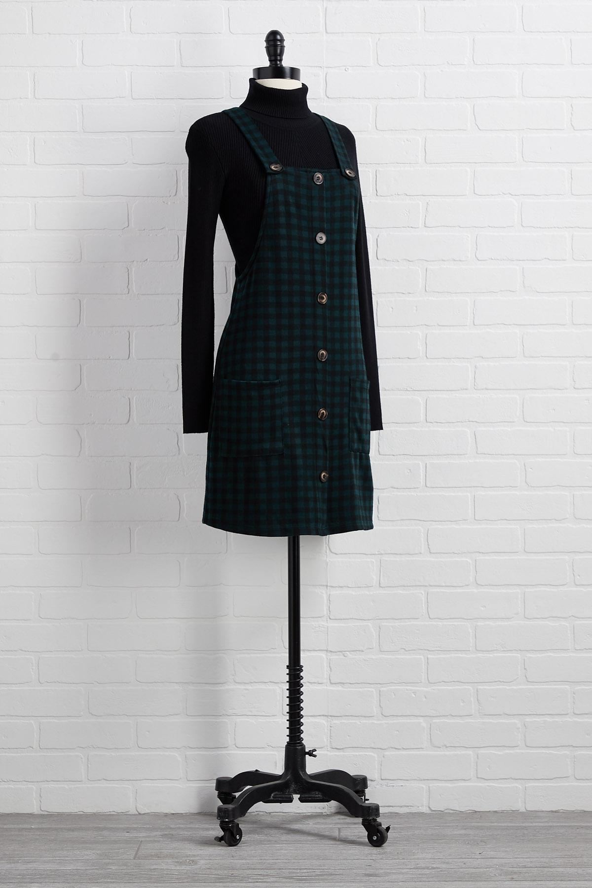Christmas Tree Farm Jumper Dress