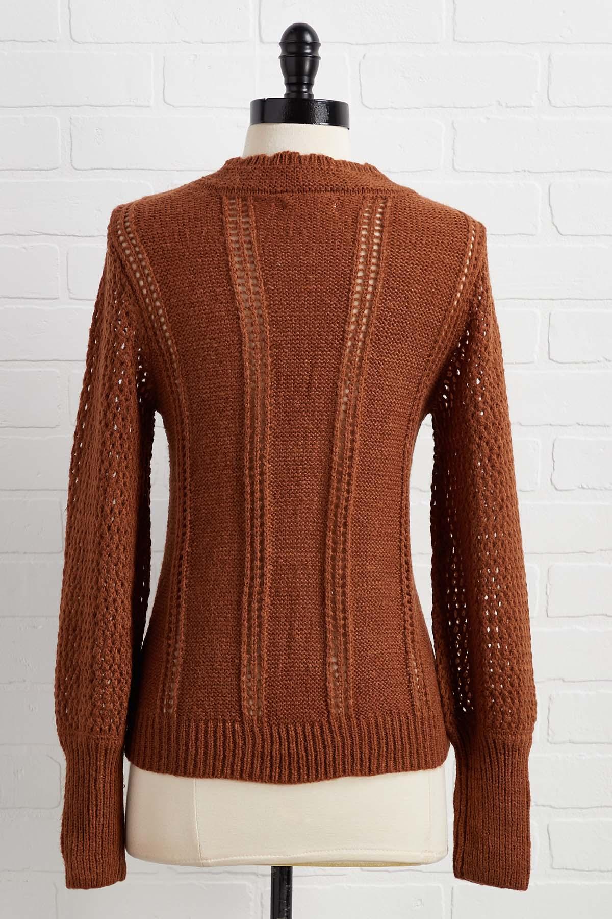 Pom Knows Best Sweater