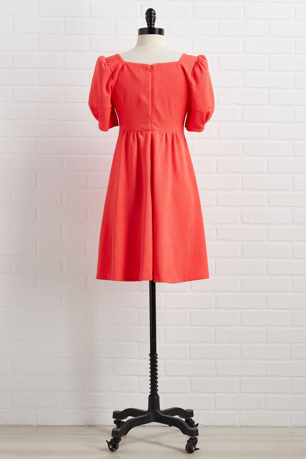 Orange You Glad To See Me Dress