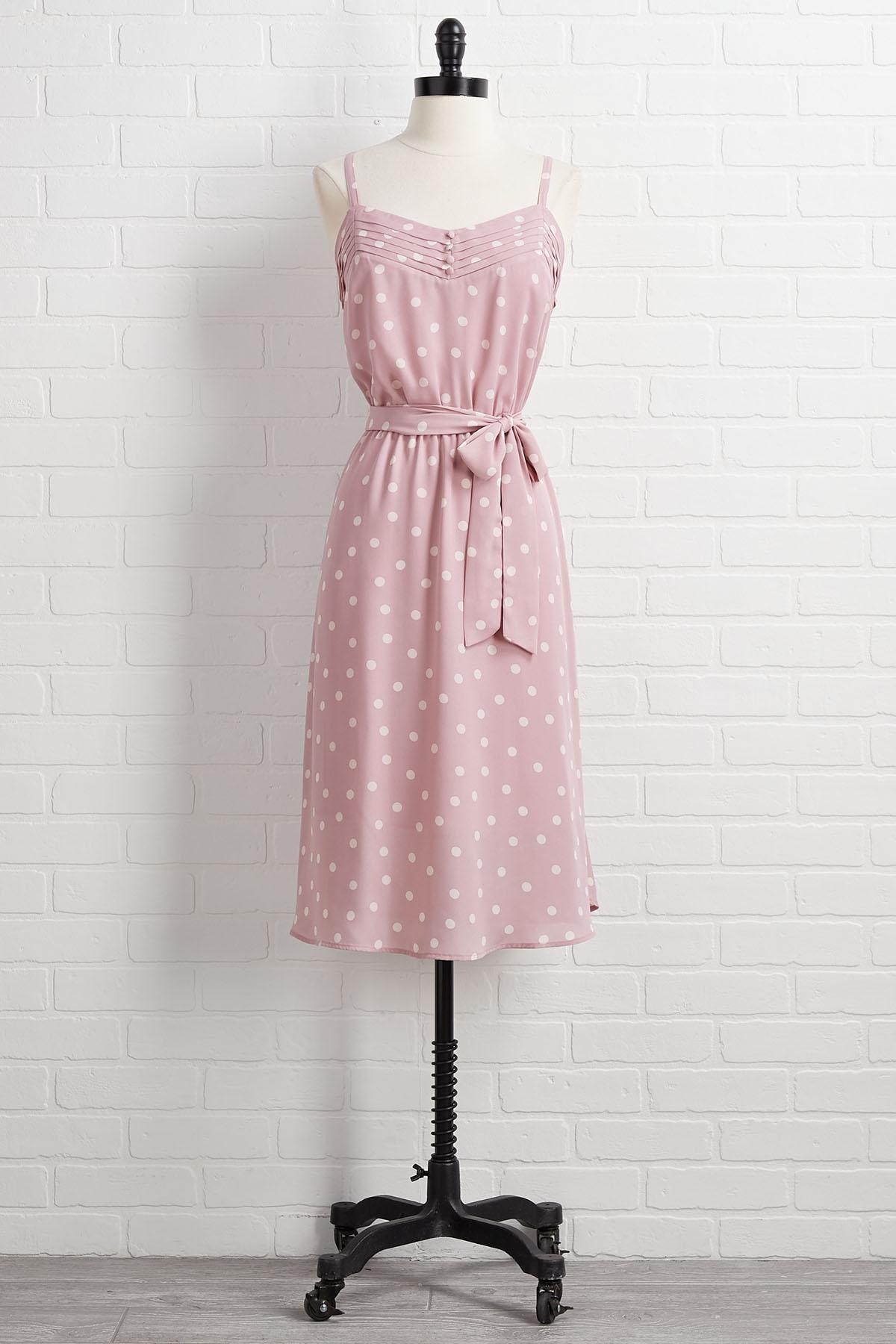 Pretty In Polka Dot Dress