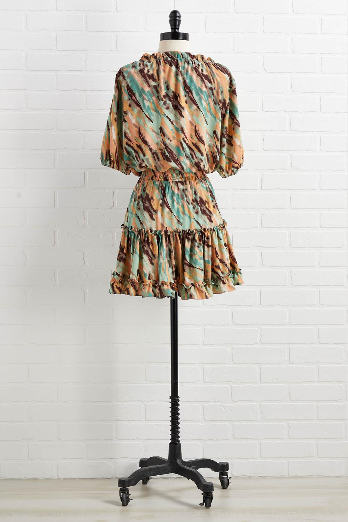 Mint Chocolate Chip Dress