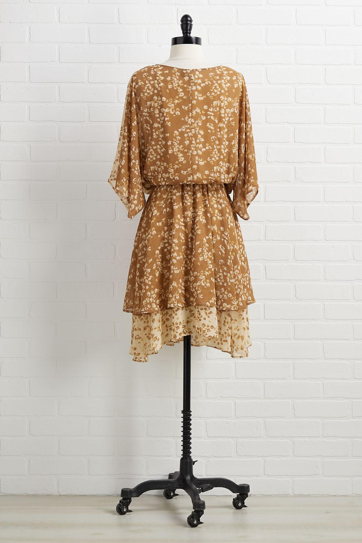 Shift To Neutral Dress