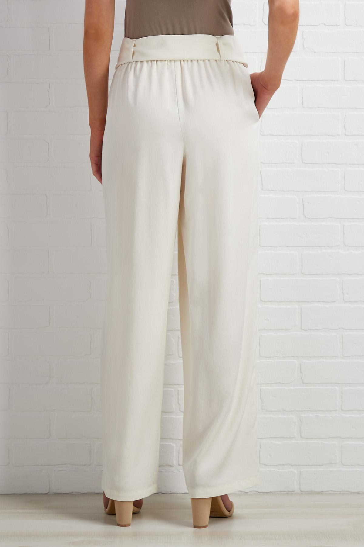 Heart Belted Moment Pants