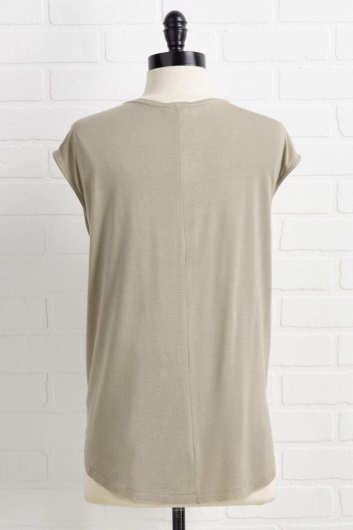 Stay Or Sleeveless Top