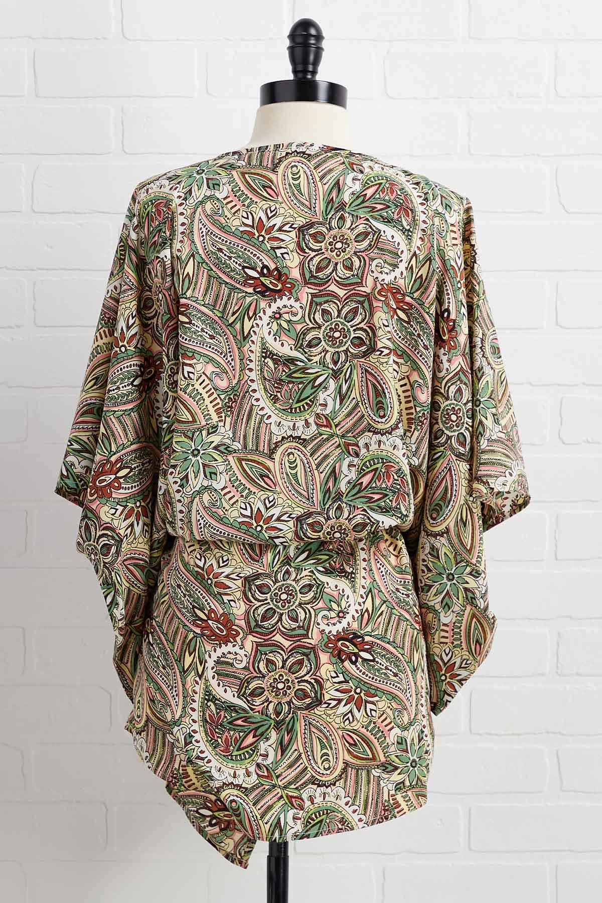 It Paisley To Be Kind Coverup