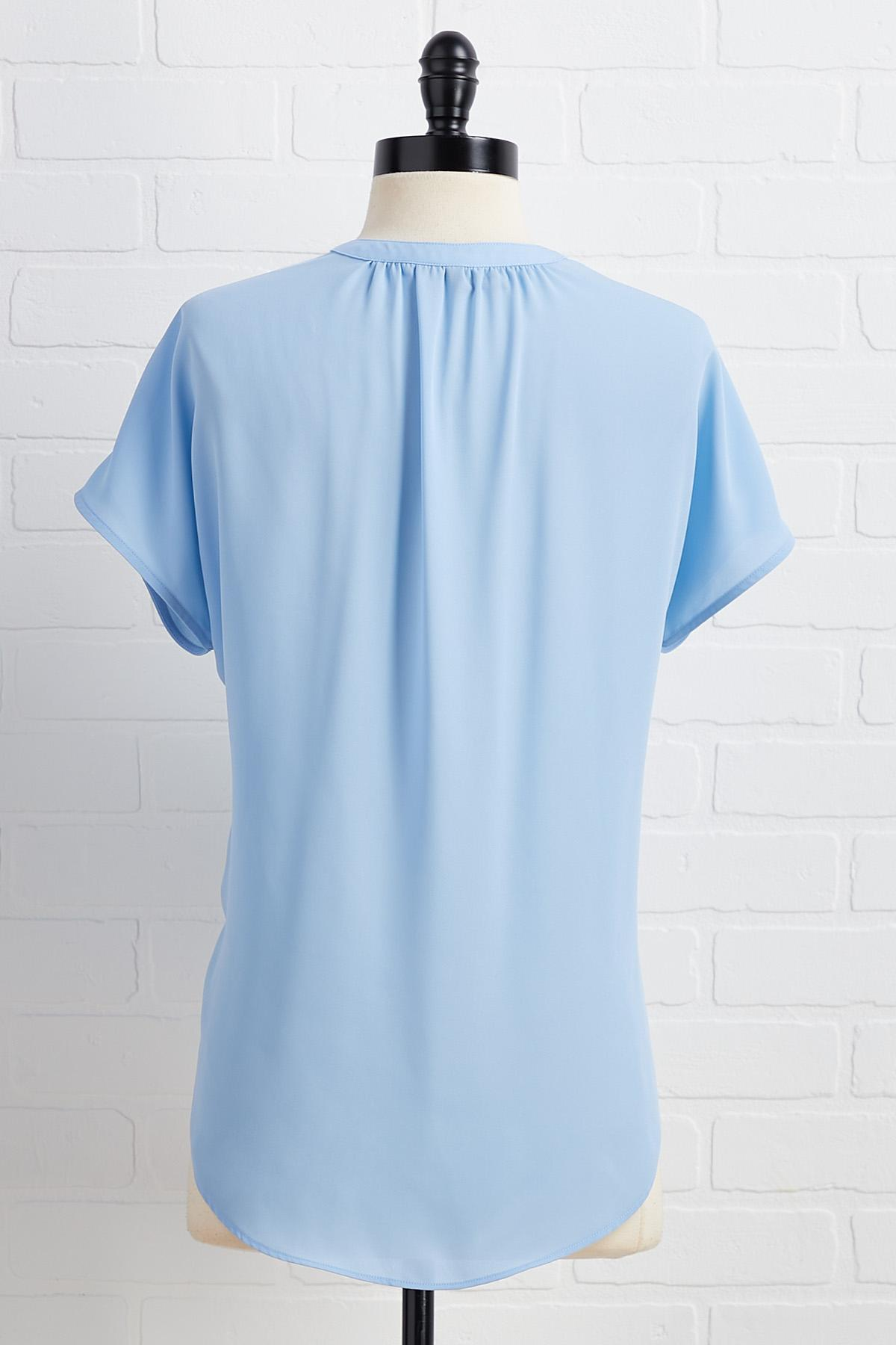 A Sight To V- Neck Top