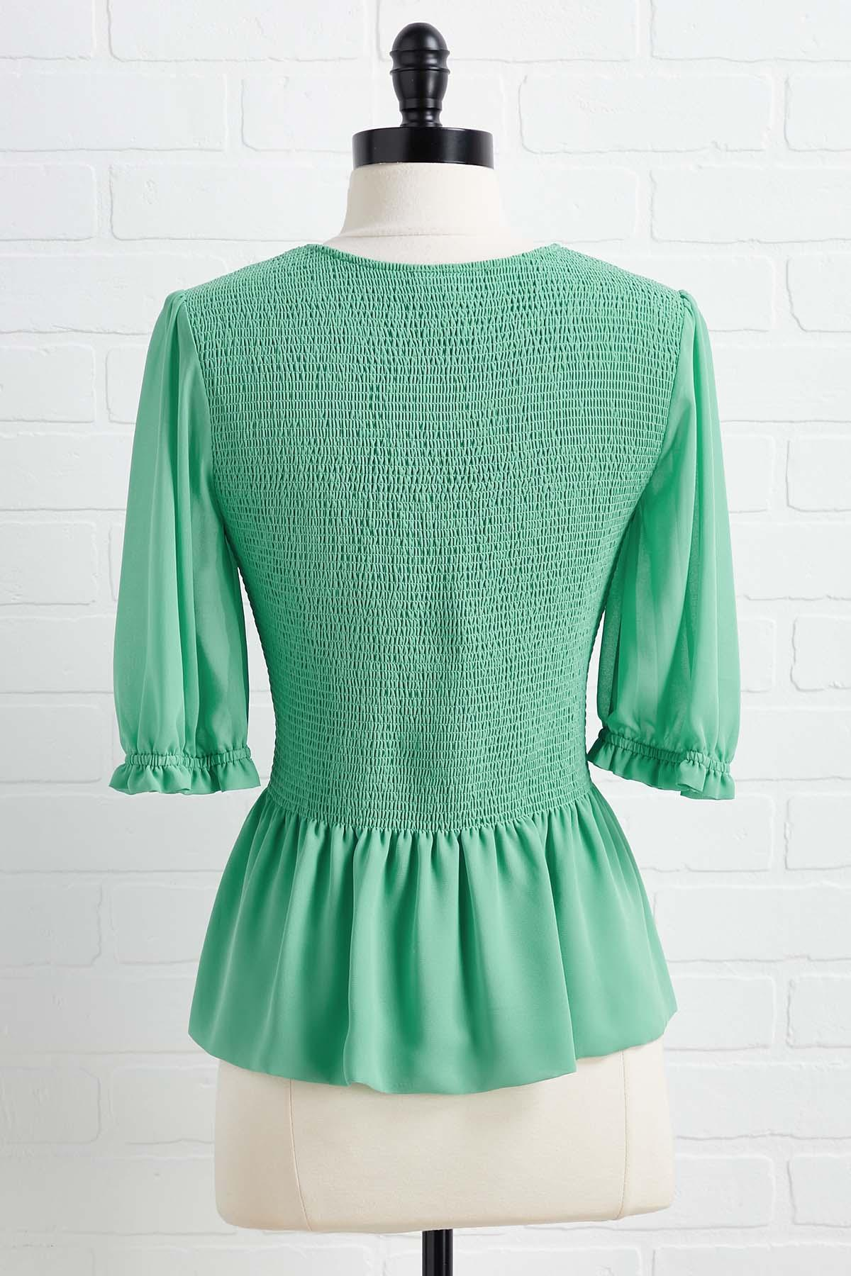 Mint Chocolate Top