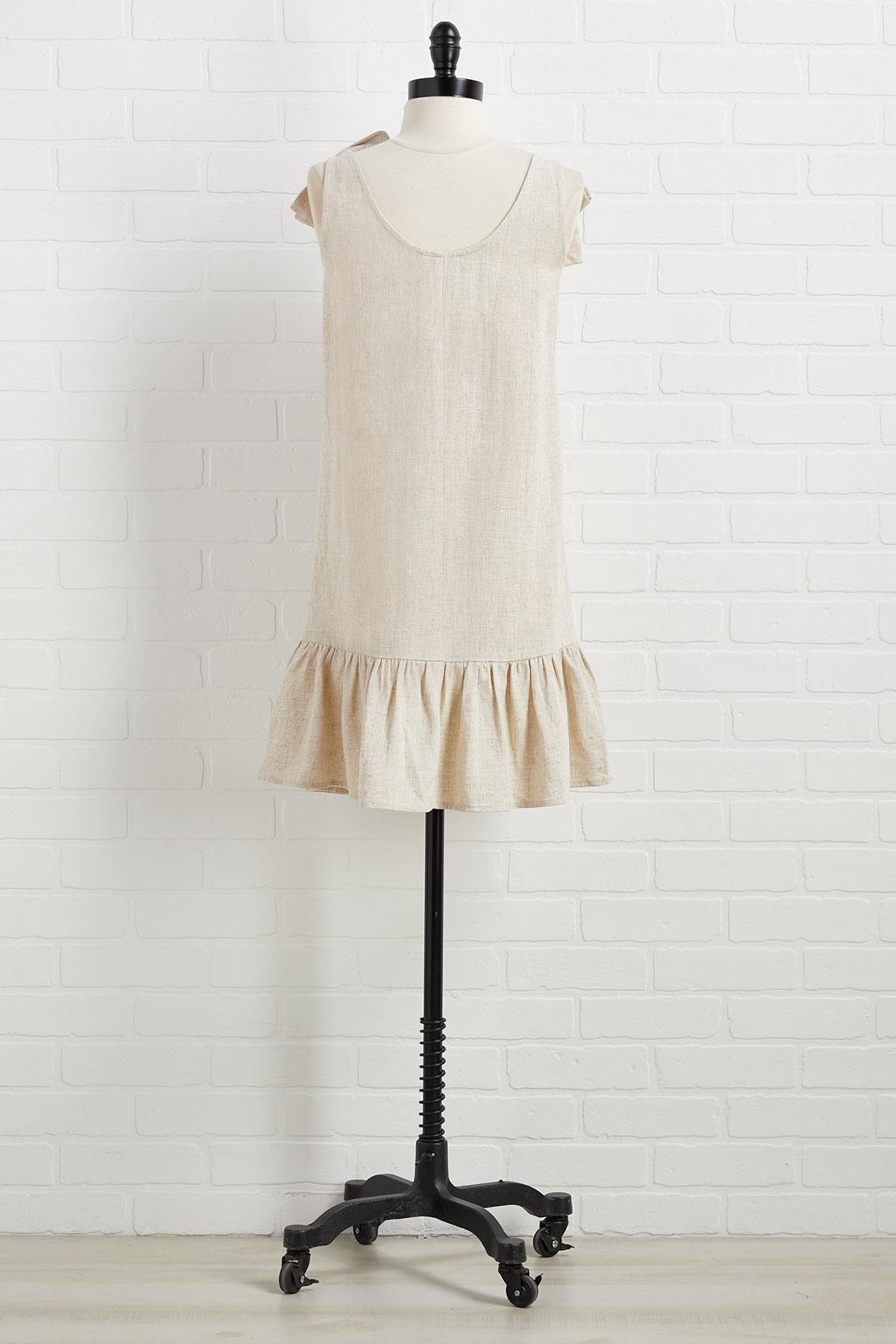 Lovin ` And Linen Dress