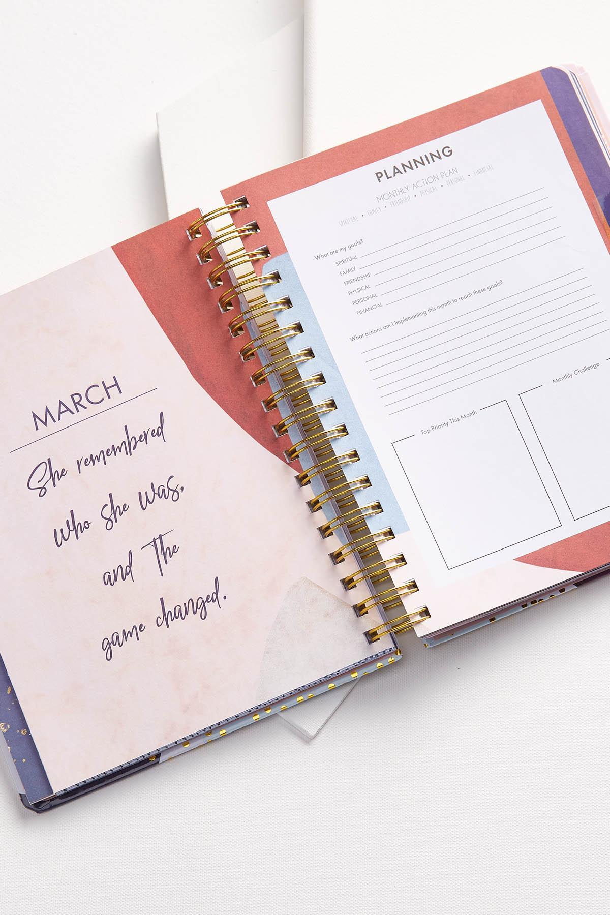 Inspirational 18mo Agenda