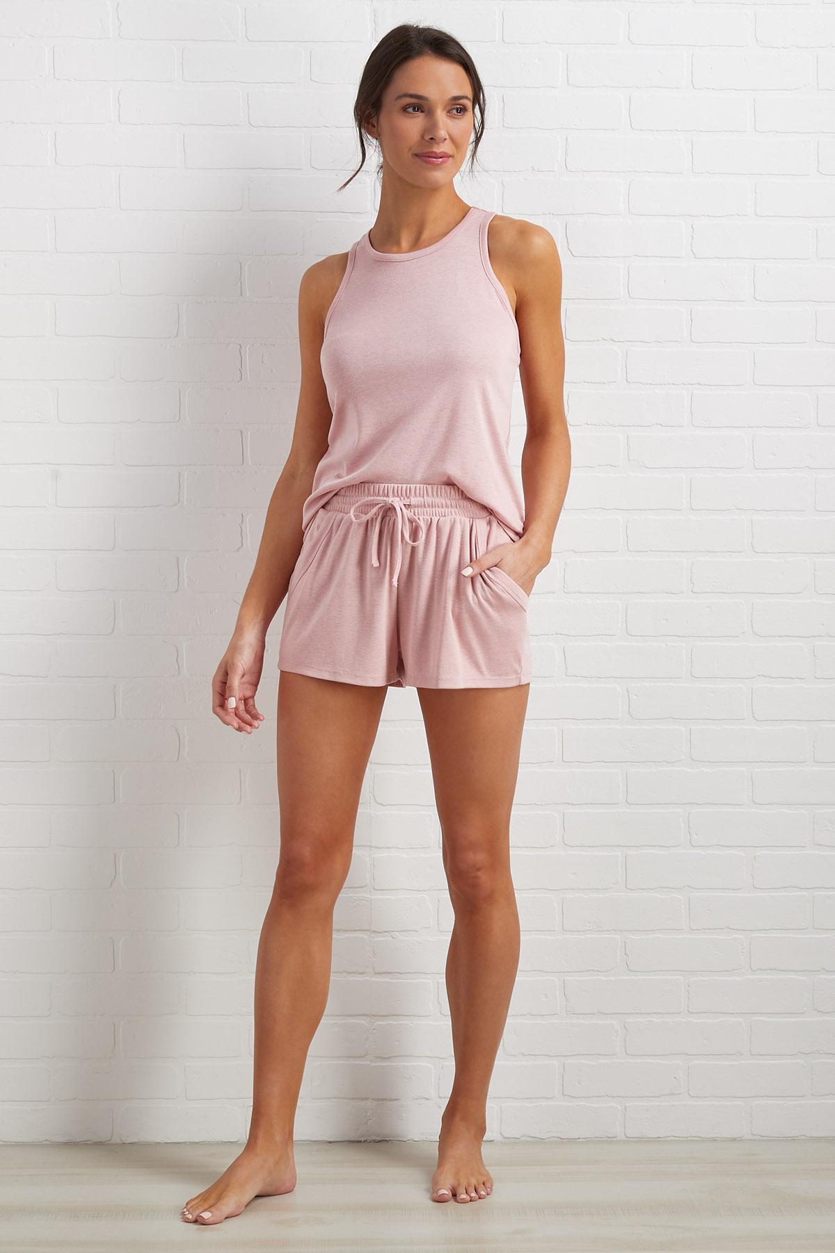 Think Pink Sleep Shorts