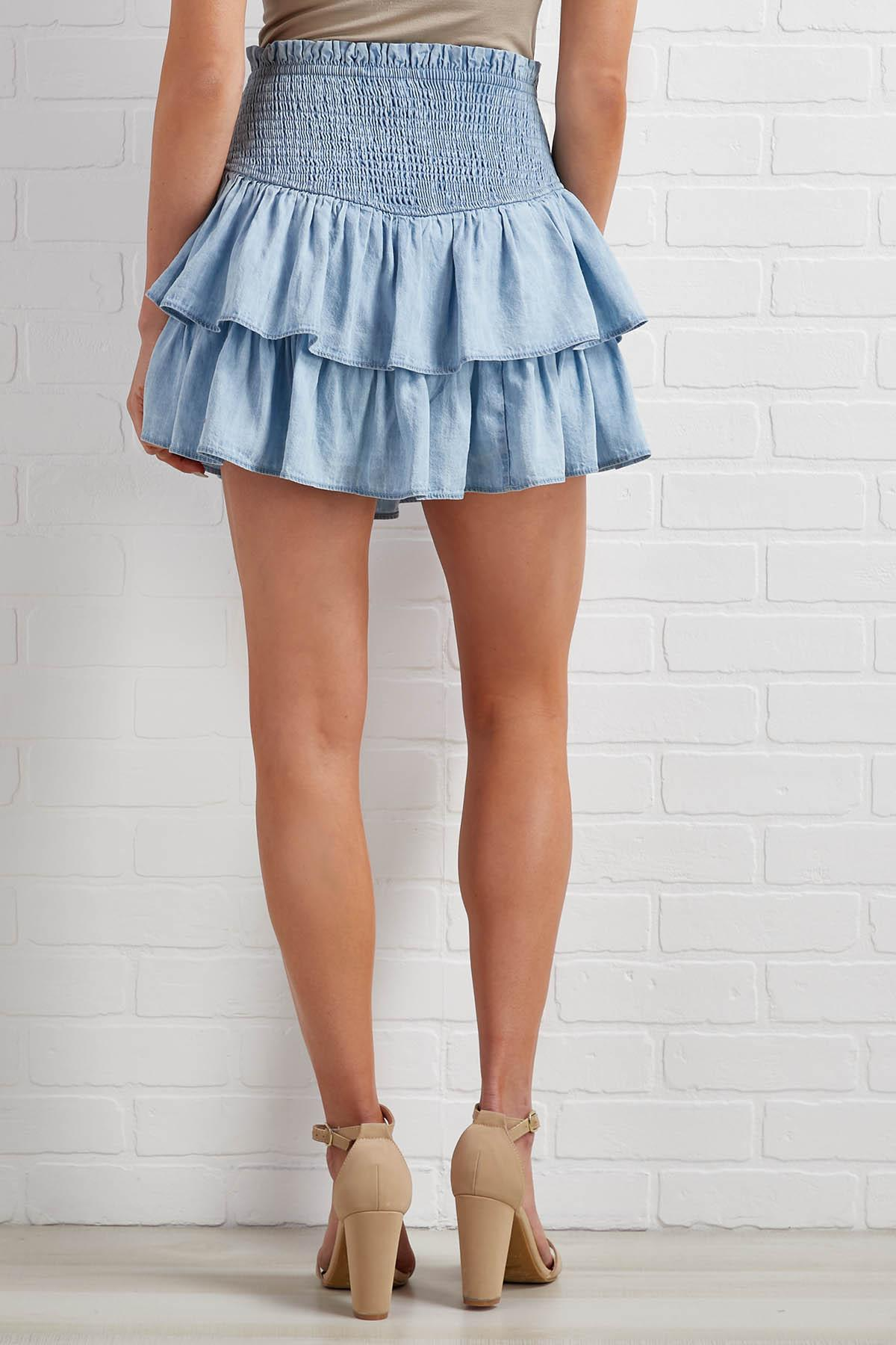 Pause For A Mini Skort