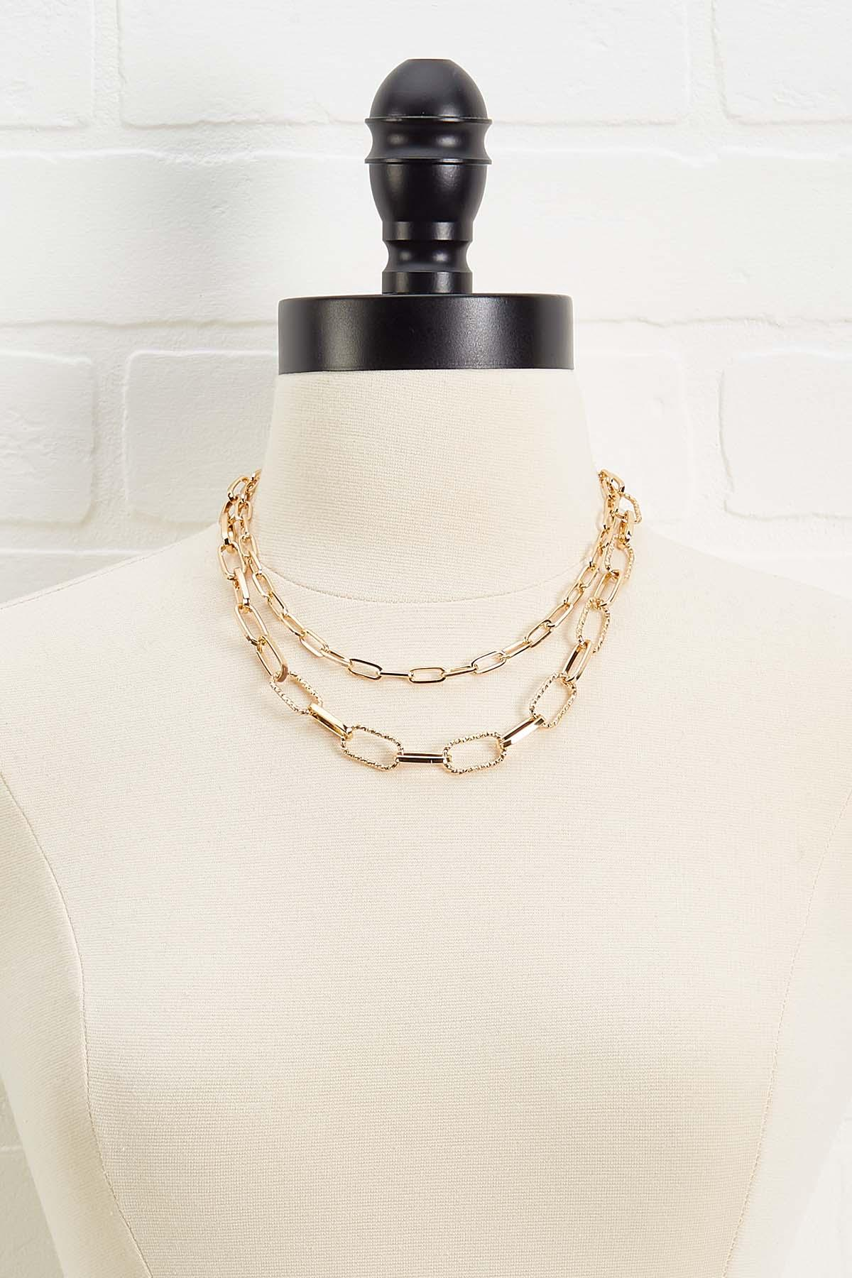 Chain Linked Necklace