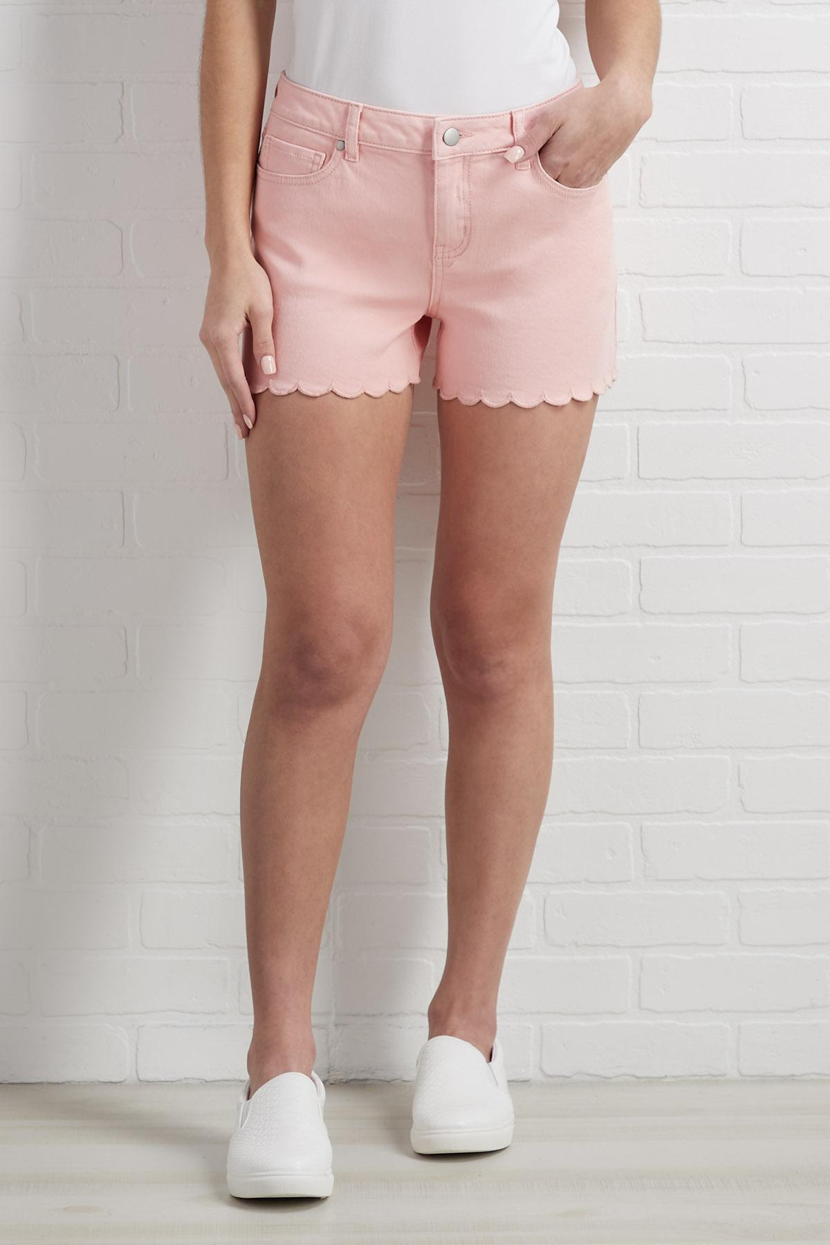 Side Of Scallops Shorts