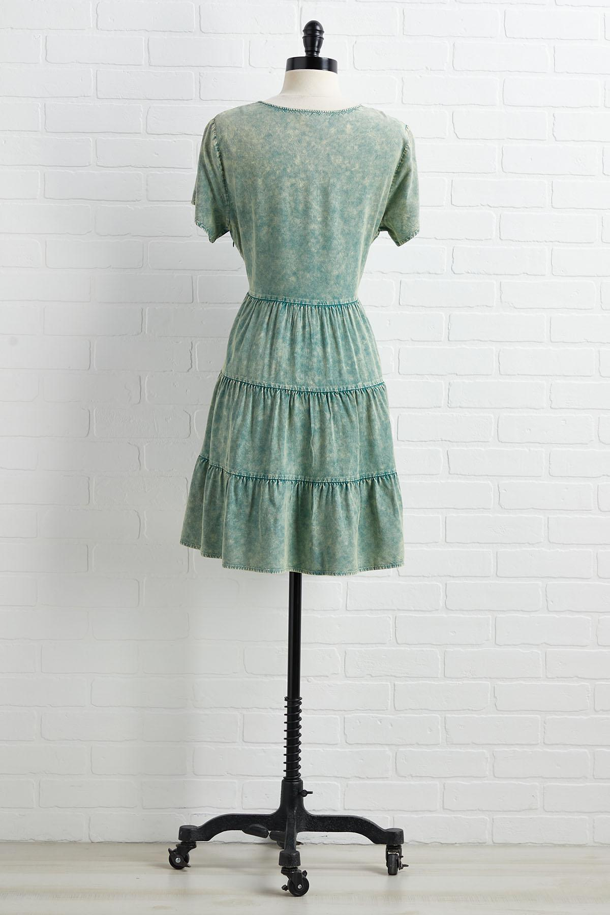 Mineral Wash Your Back Dress