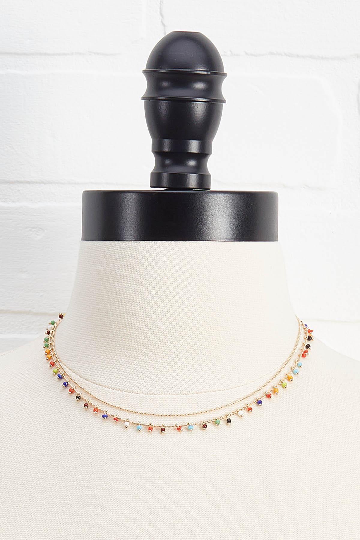 Dainty Beaded Necklace