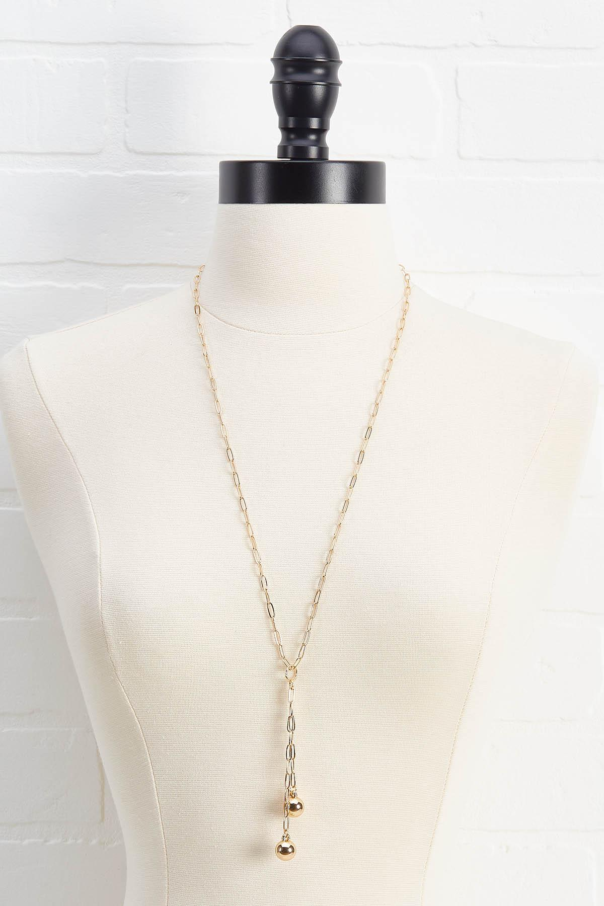 Chain Link Y- Necklace
