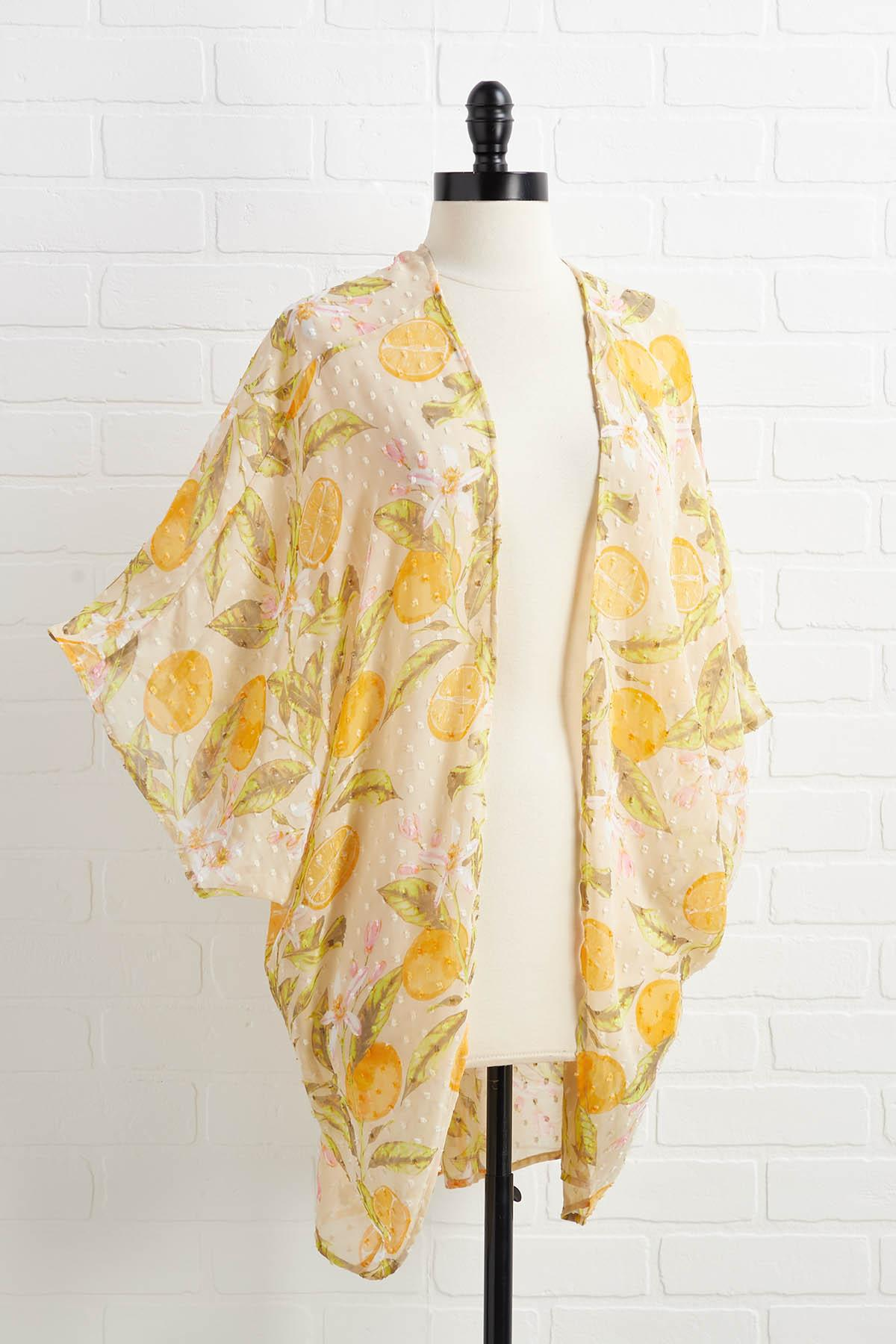Tangy And Sweet Kimono