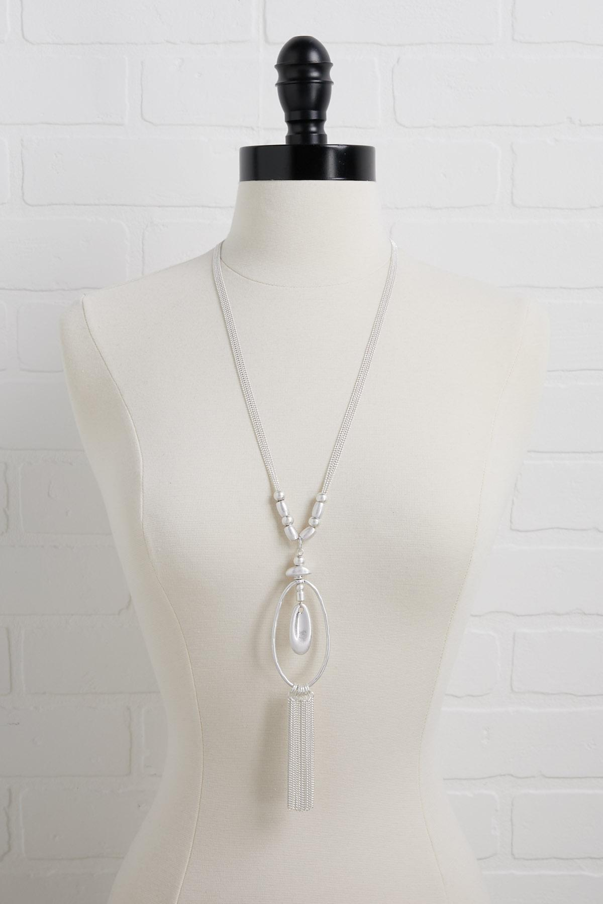 Metal Beaded Necklace