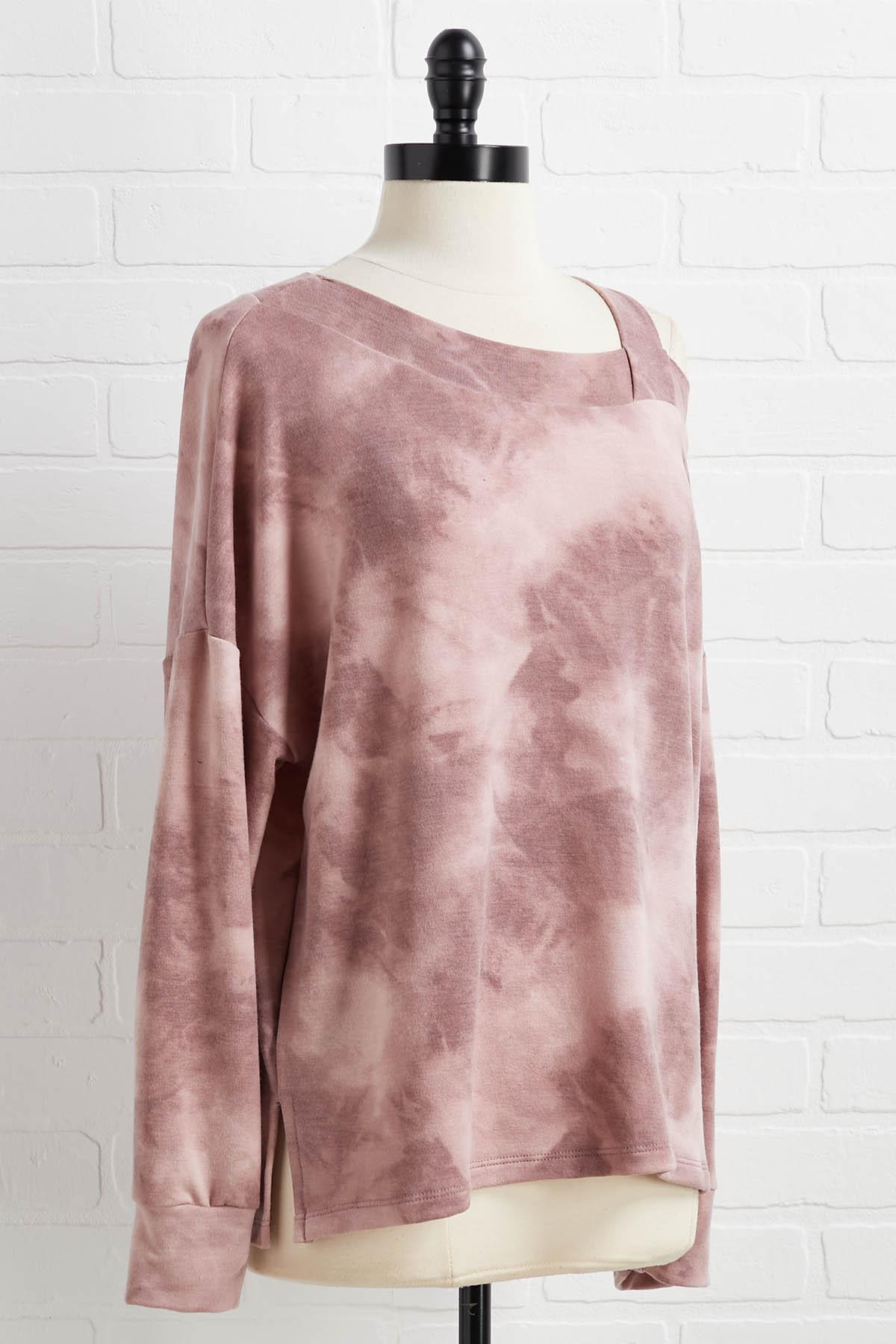 Catching A Cold Shoulder Top