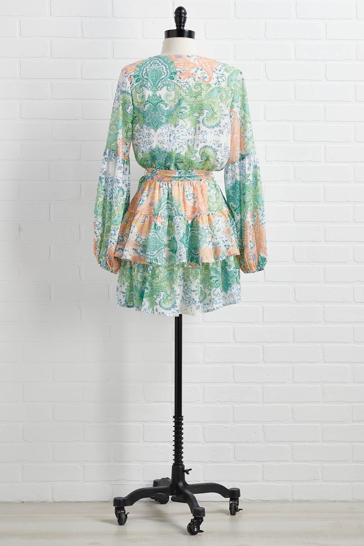 Sweetly Green Dress
