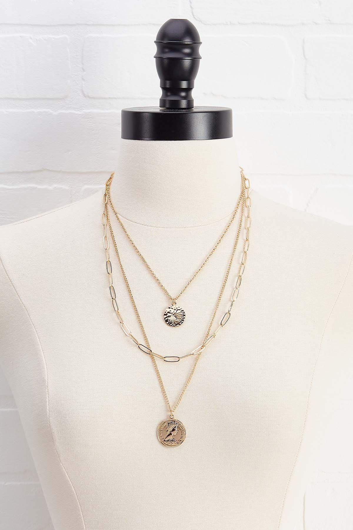 Charm Coin Necklace