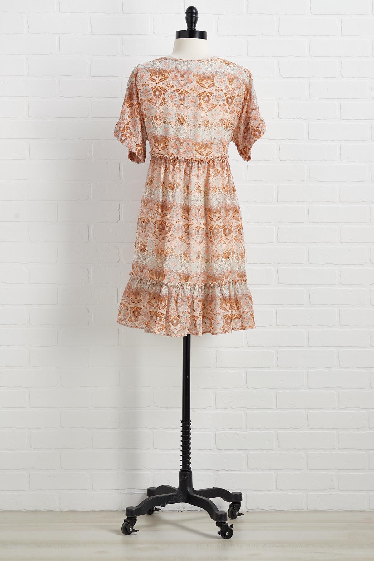 Do As You Rust Dress