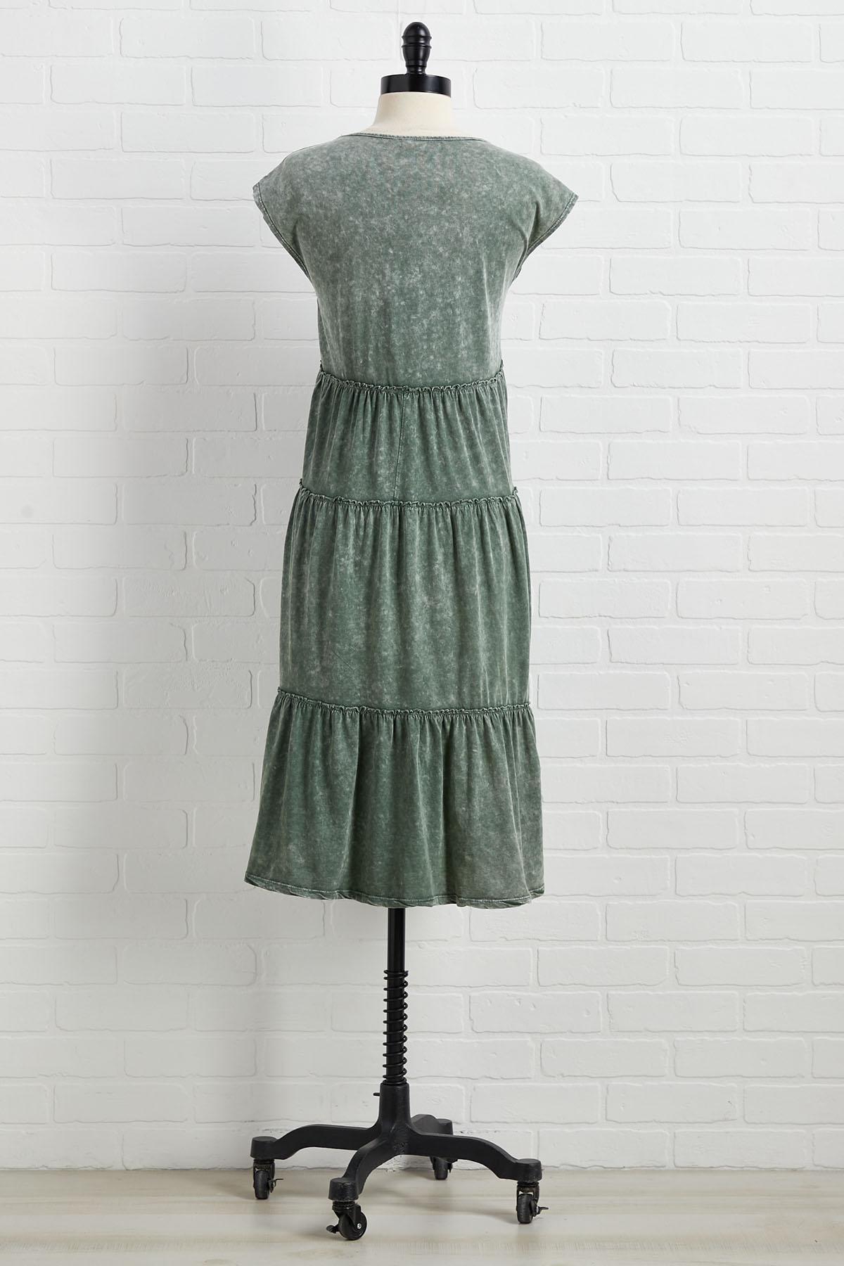 Meet In The Midi Dress