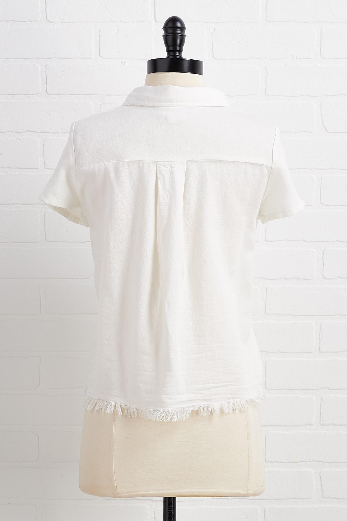 Hoped And Frayed Top