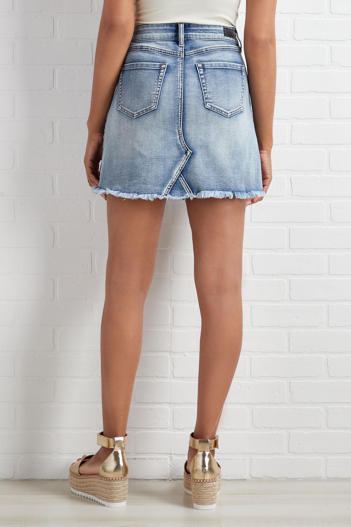 A Little Distressed Skirt