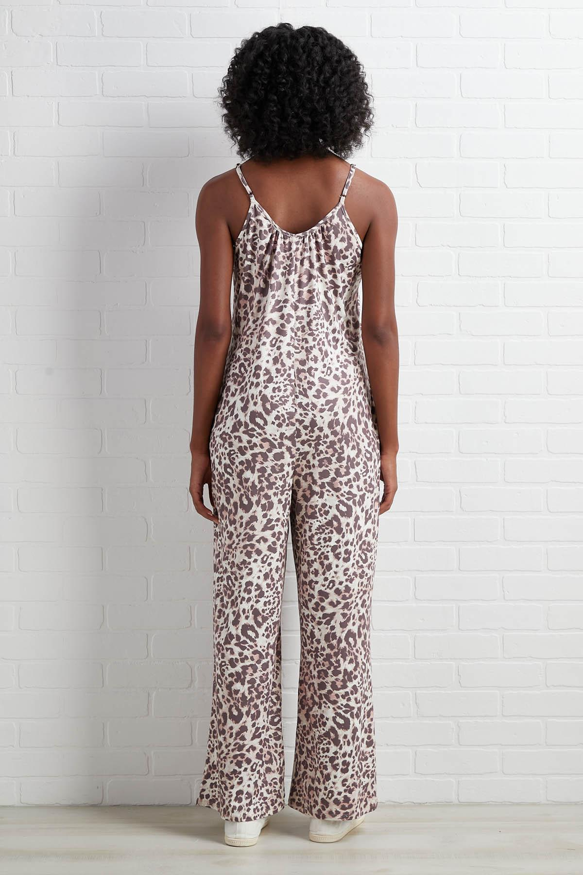Cheetah To Win Jumpsuit