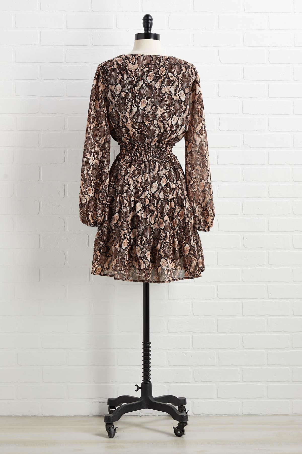 Python A Roll Dress