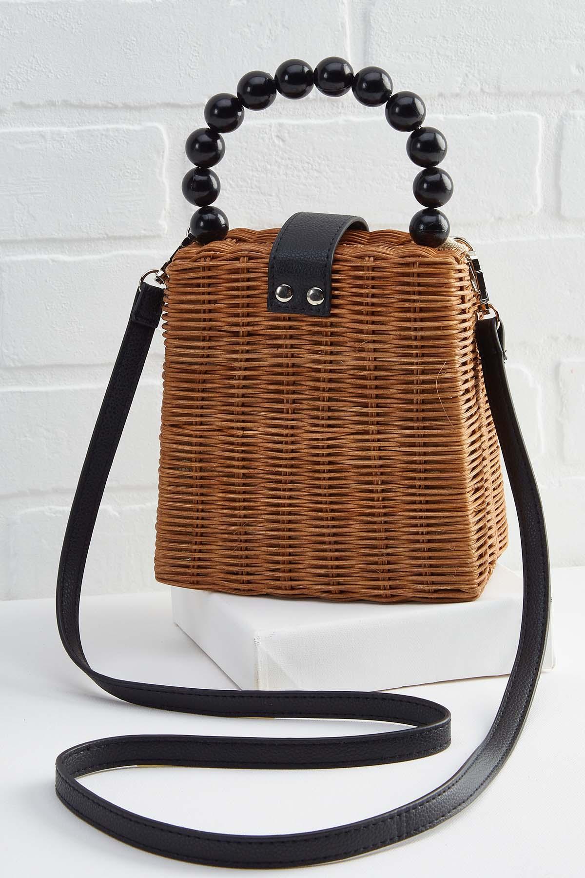 Beaded Handle The Situation Bag