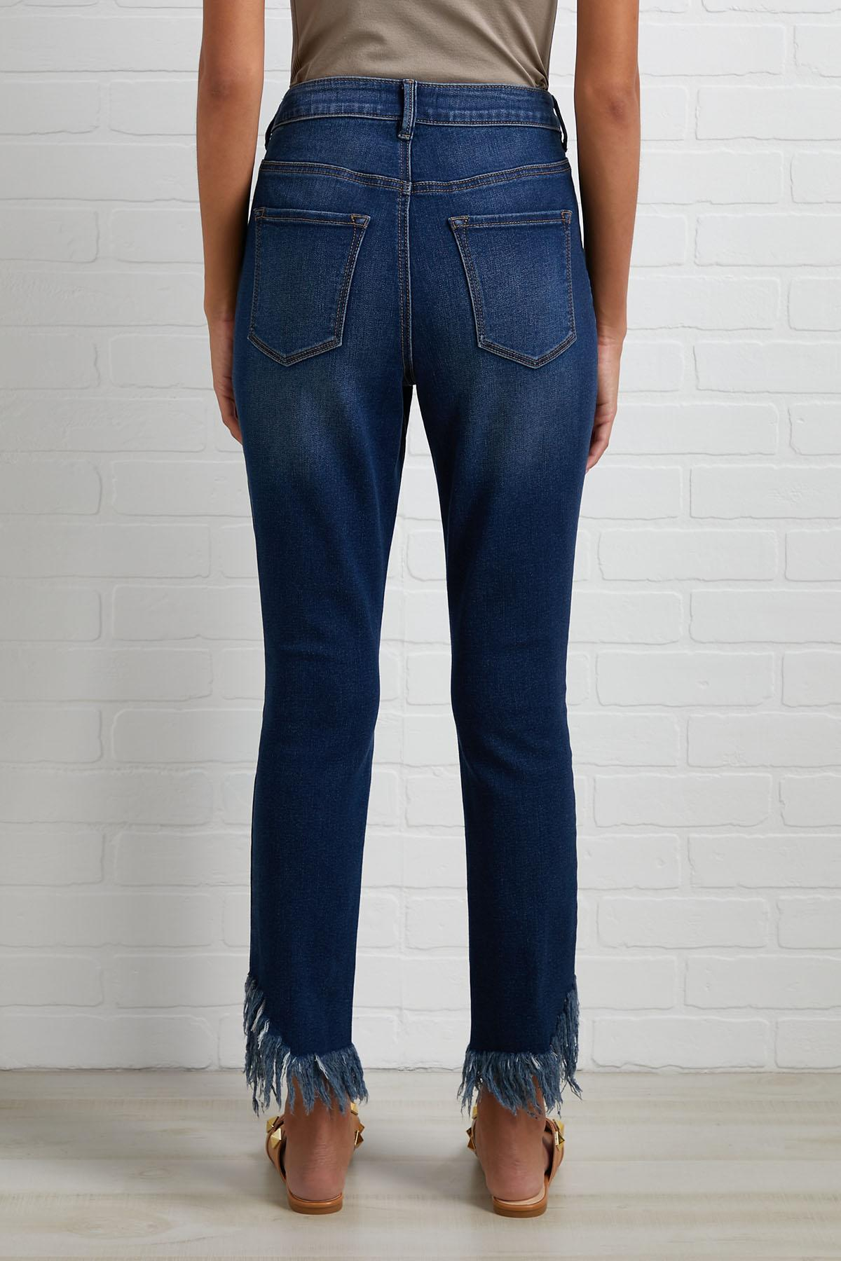 Frayed It Forward Jeans