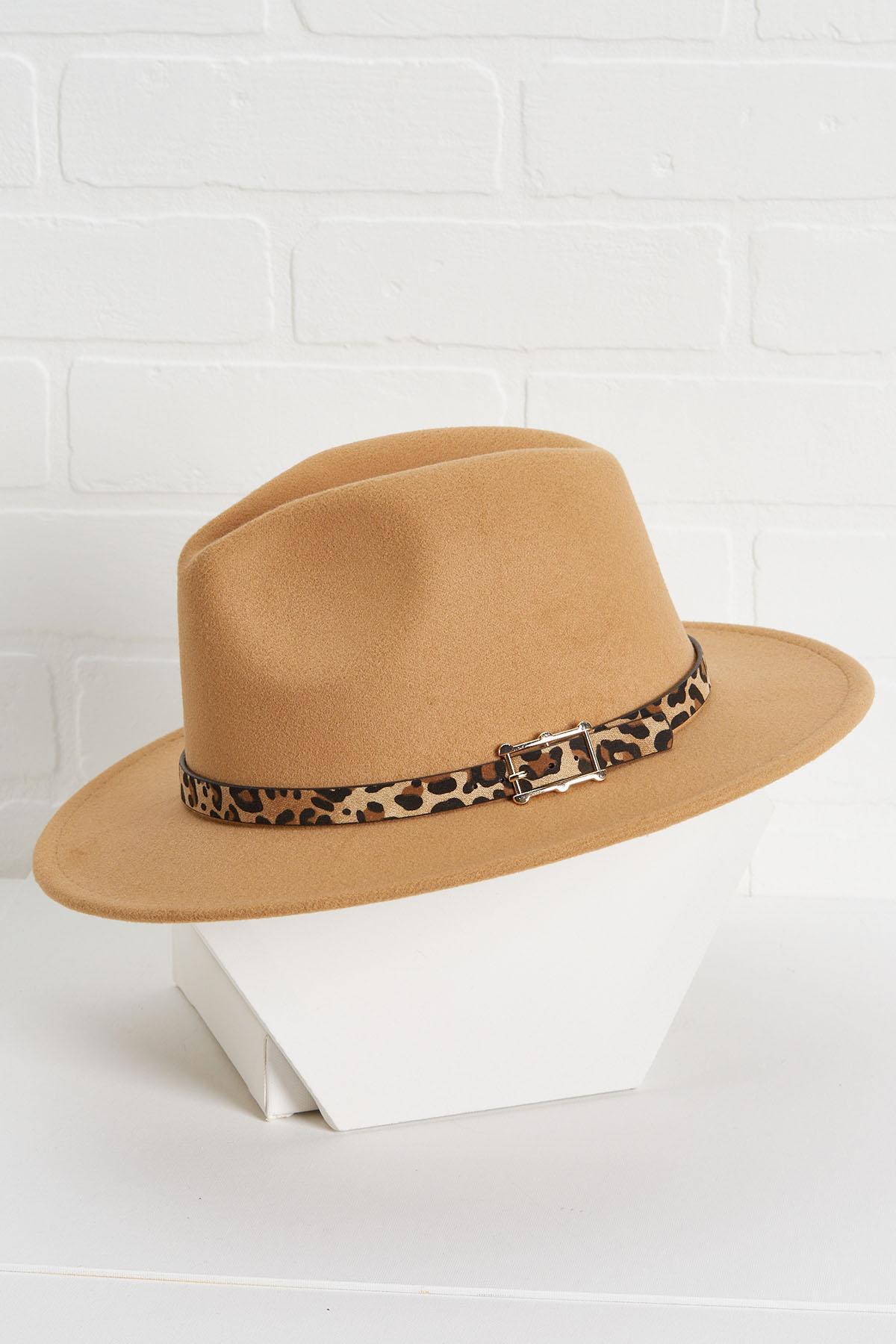 Sandy Leopard Hat