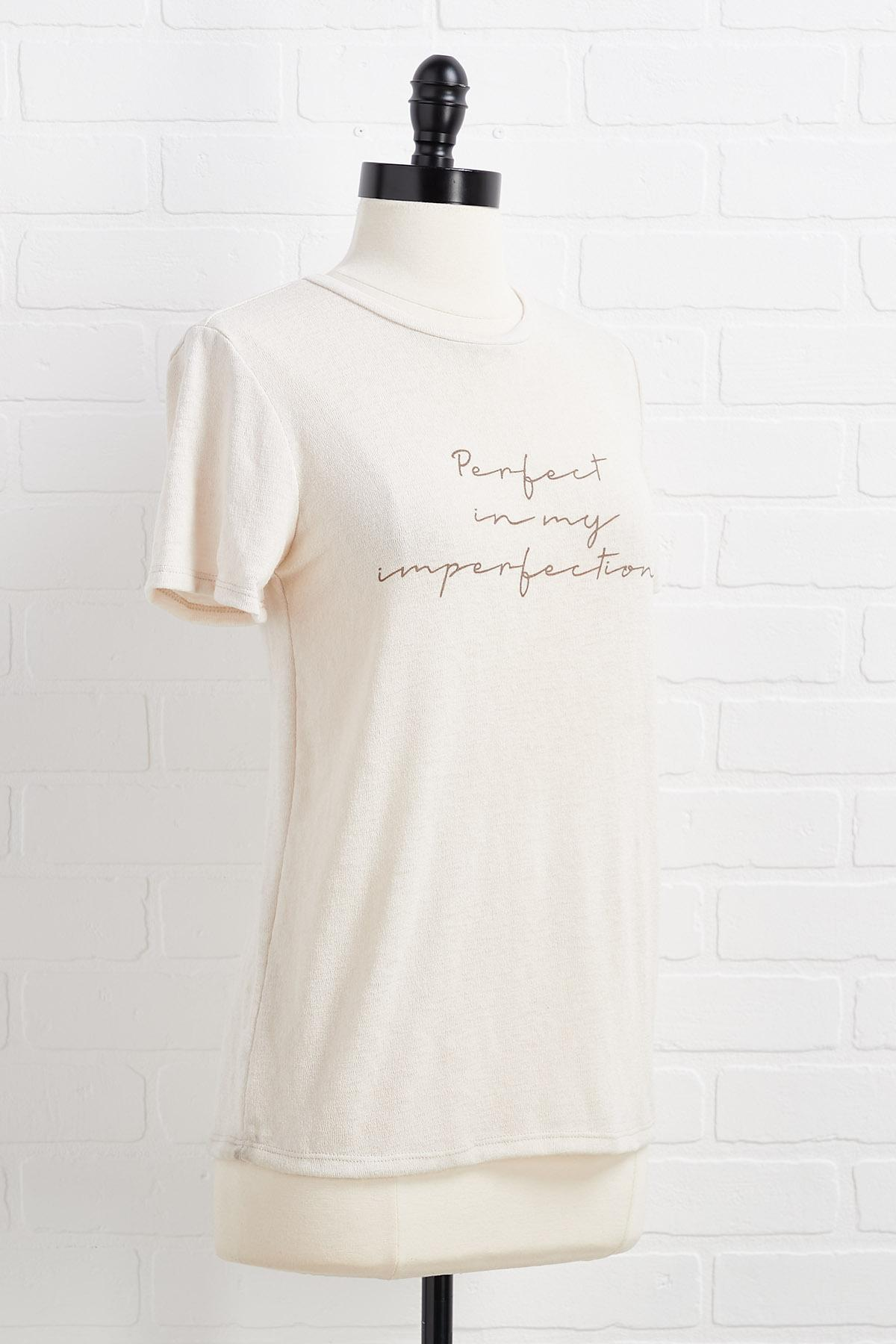 Perfect In My Imperfections Top