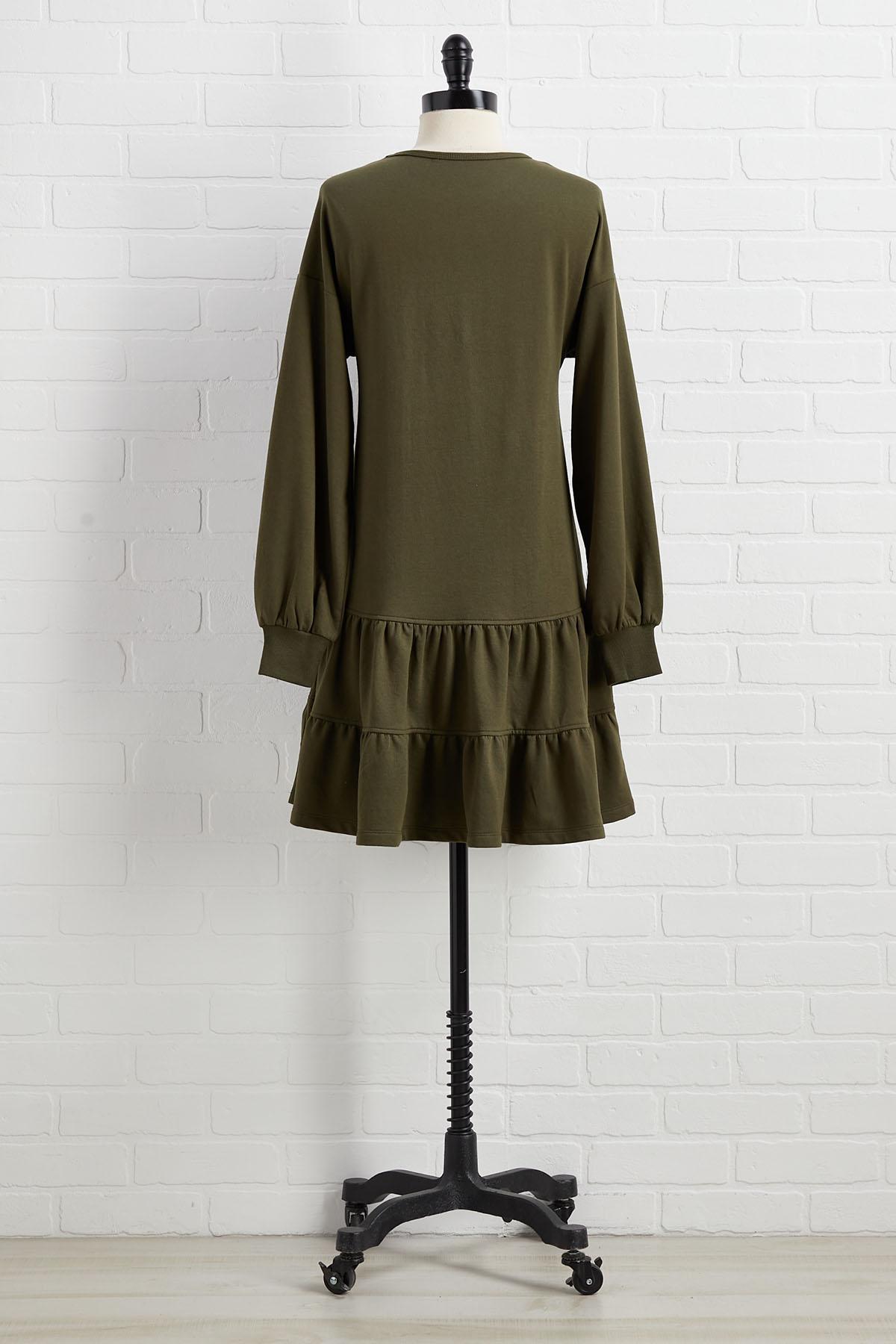 Olive Me Loves Olive You Dress