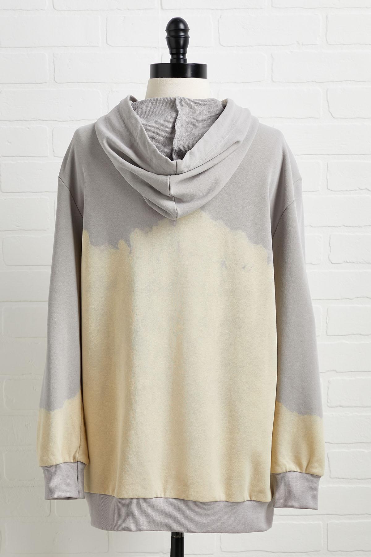To Bleach Their Own Sweatshirt