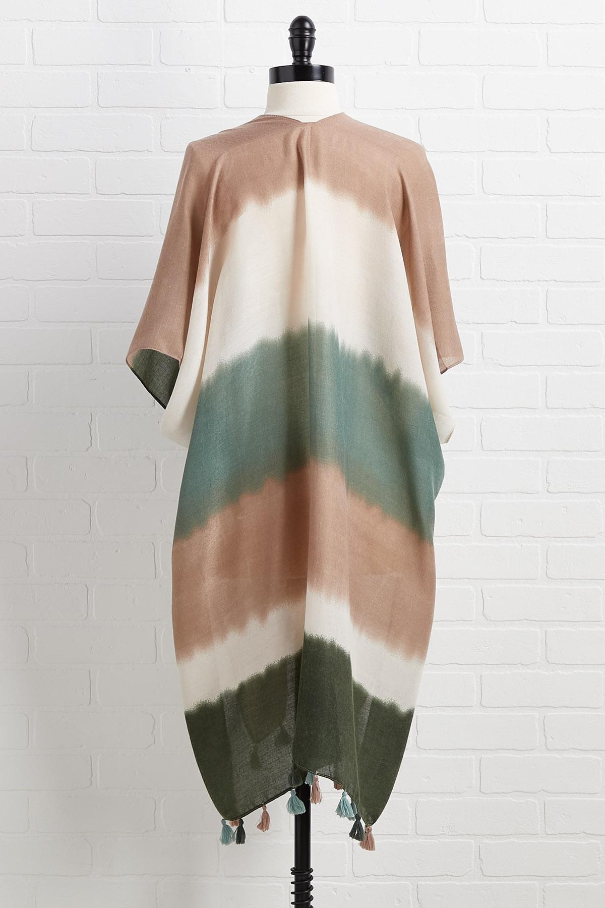 Off The Clock Kimono