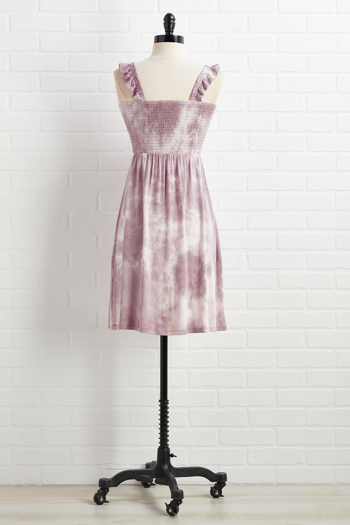Truth Or Lilac Dress