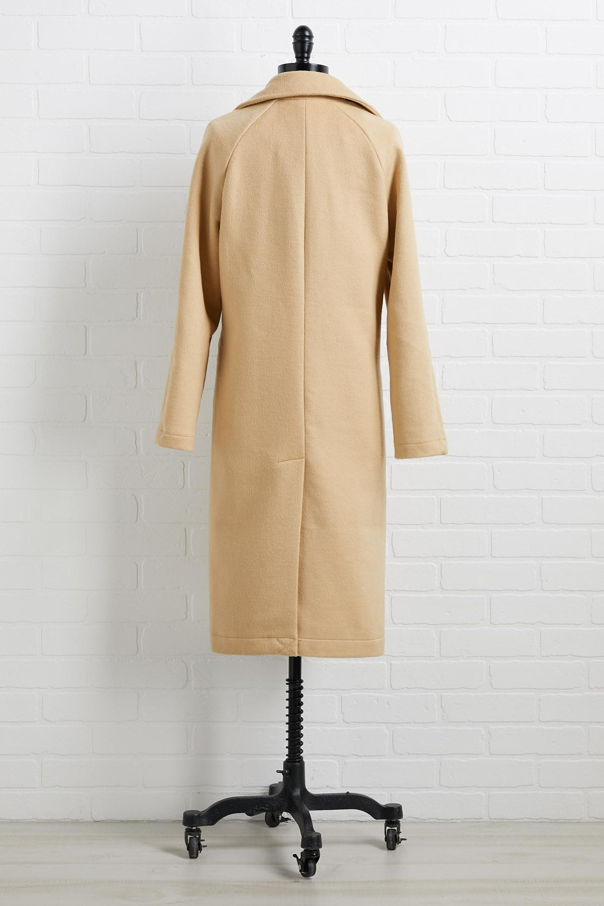Welcome To New York Coat