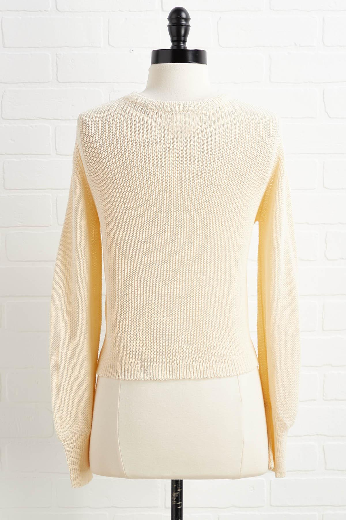Half The Problem Sweater