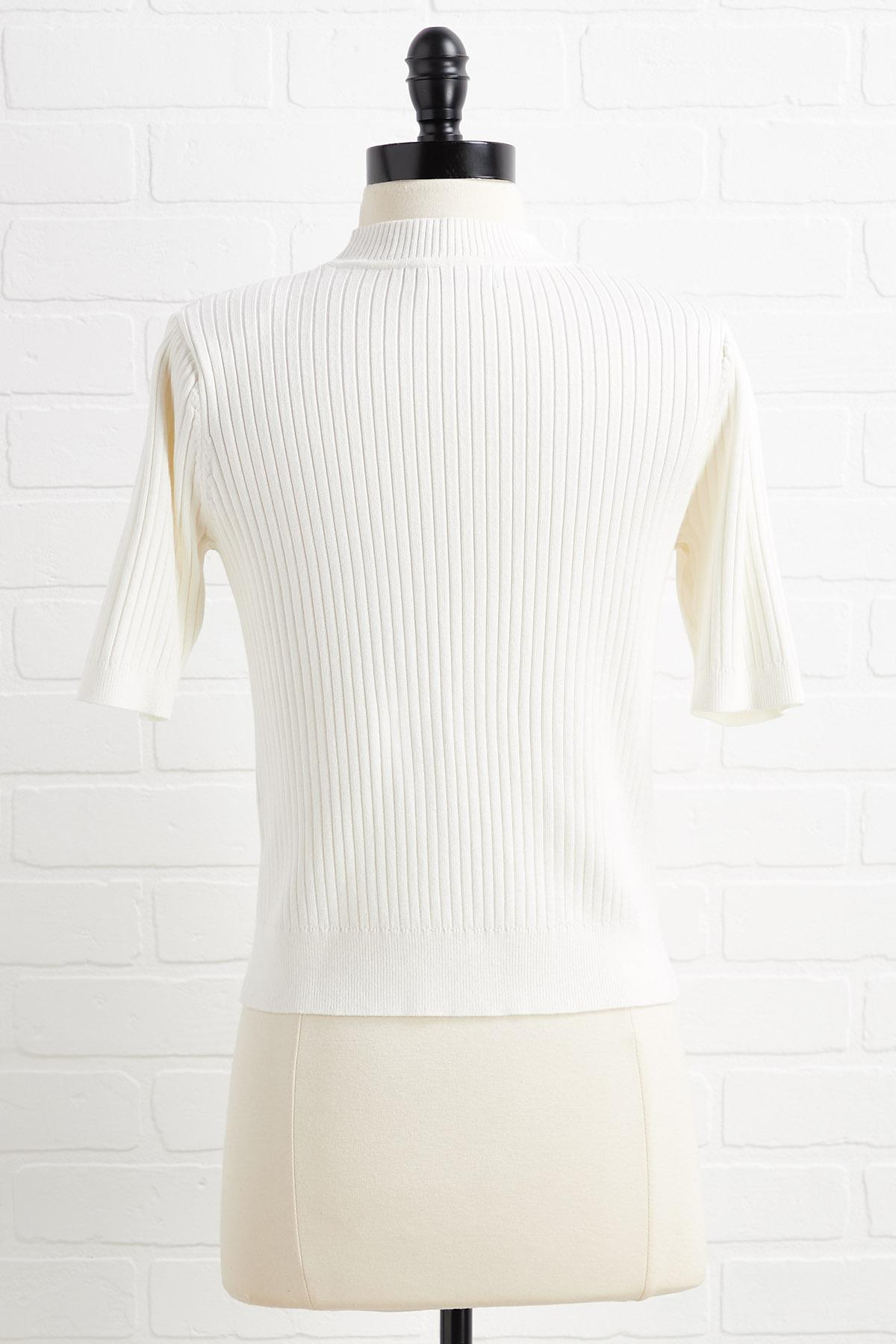 Whipped Cream Sweater
